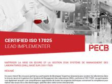 ISO 17025 lead Implementer