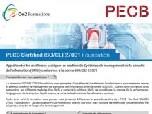 Certification ISO 27001 Foundation