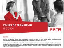 Certification ISO 9001 Transition