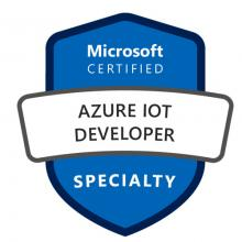 Certification Azure IoT Developer Specialty
