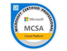 certification MCSA Cloud Platform