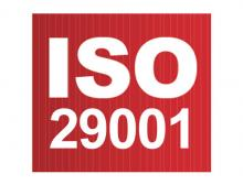 Certification ISO 29001