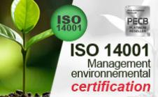 Certification 14001
